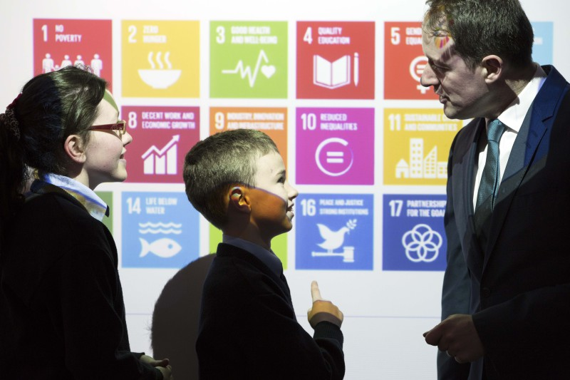 Minister Sherlock launches 2016 Irish Aid Our World Awards for primary schools