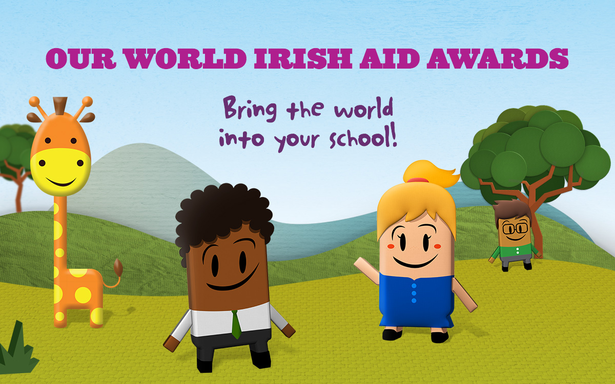 Our World Irish Aid Awards – MainBanner